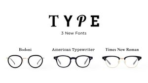 TYPE New Glasses Models