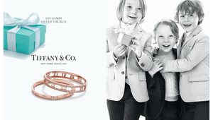 Tiffany & Co Joy Comes Out Of The Blue Box