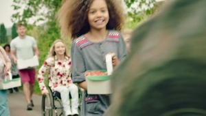 """Aldi's patriotic  """"Championing Great British' commercial"""