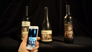 Wine bottles brought to life in new immersive AR app designed by Tactic for 19 Crimes