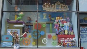 Kellogg's Rice Krispies Interactive Holiday Display
