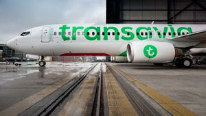A new visual design for Transavia, it's a pleasure!