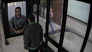 DEWxNBA Interactive Bus Shelter