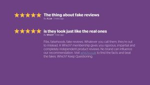 Which? - Fake Reviews