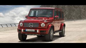 Mercedes Benz GClass - Gravity