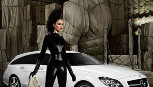 Joan Smalls For Mercedes-Benz X Mario Testino