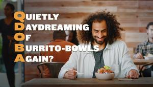 QDOBA Mexican Eats // Burrito Bowl :30