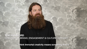 Defining Immortality - Tom Rainsford, Director of Brand, Engagement & Culture, giffgaff