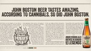 John Boston - Brewed in Honor of Legends