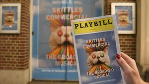 Skittles Commercial: Broadway the Rainbow