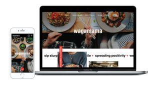 Wagamama Website Redesign