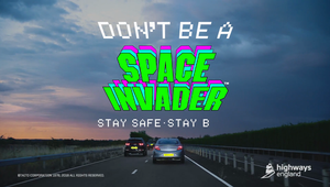 Highways England - Don't Be a Space Invader