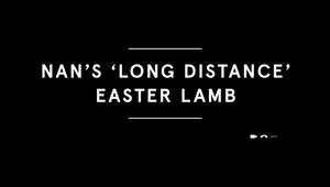 Tesco 'Nan's Long Distance Easter Lamb'