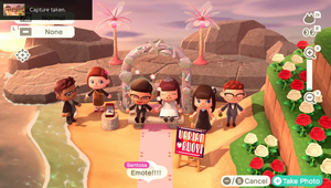 BBH Singapore - Animal Crossing Wedding Photos