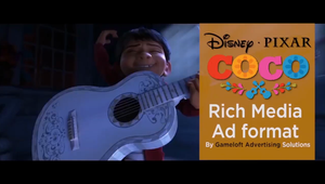 Disney promotes Coco with a gamified music experience