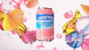Seagram's Escapes Tropical Rosè