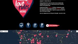 Closeup Where #LoveRules Live Map