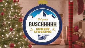 Busch Beer - Cooler Stockings