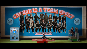 Adidas Superstar - Change is a Team Sport