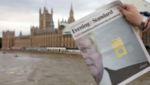 Valspar - Evening Standard Boris Wrap