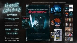 HORROR CATALOGUE BOARD