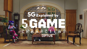 Optus - 5G Explained by 5Game Characters