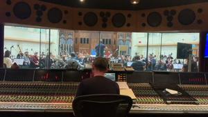 Aldi Christmas 2020 - BTS Orchestra Recording