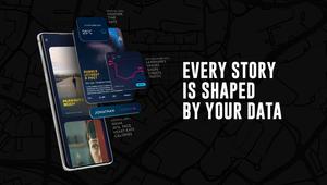 Running Stories - Data Video Deck