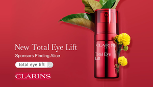 Clarins Total Eye Lift Sponsors Finding Alice