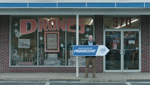 "Progressive: Sign Spinner ""Stand In"""