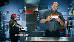 Hardees: The Hands Know