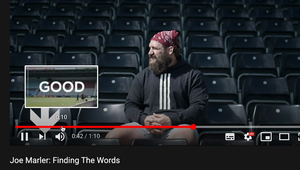 CALM with Joe Marler 'Finding The Words'.