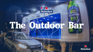 Heineken - 'The Outdoor Bar'