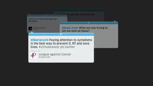 Colombian League Against Cancer - 'Cancer Tweets'