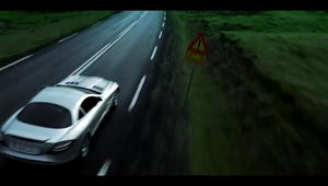 Mercedes SLR Commercial