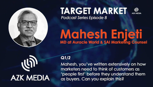 AZK Media Target Market Interview with Mahesh Enjeti