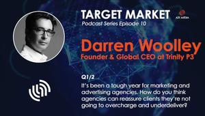 AZK Media Target Market Podcast Excerpt Featuring Trinity P3 Global CEO Darren Woolley