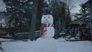 Tim Hortons - 'Holiday Snowman'