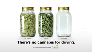 There's no cannabis for driving.