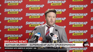 Press Conference 1_Supercheap Auto heartbroken after sponsorship loss