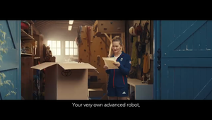 Human Support Robot - Toyota's Olympic & Paralympic Advert