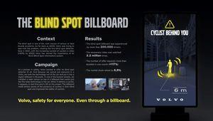 CASE BOARD: VOLVO BLIND SPOT BILLBOARD