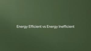 Life Is Better With Brick Episode 4 - Energy Efficient vs Energy Inefficient