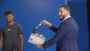 Behind the scenes with Nate and Mustafa