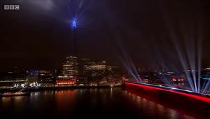 London's 2021 fireworks_Happy New Year Live BBC