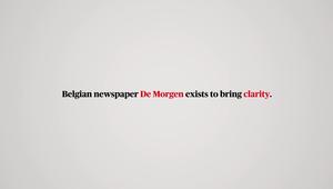 De Morgen Newspaper - Kaleidoscope